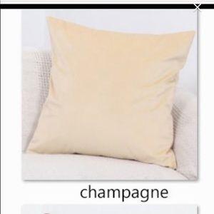 Burke Home Velvet Throw Pillow